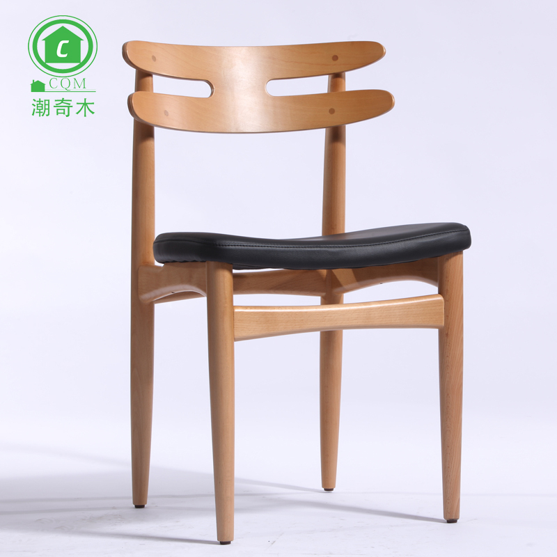 European Brahmin Chair Dining Chair Wood Chair Creative