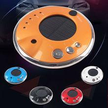 2015 New Car Fresh Solar Air Purifier Portable home Negative lon Aromatherapy Ozone Generator Humidifier(China (Mainland))