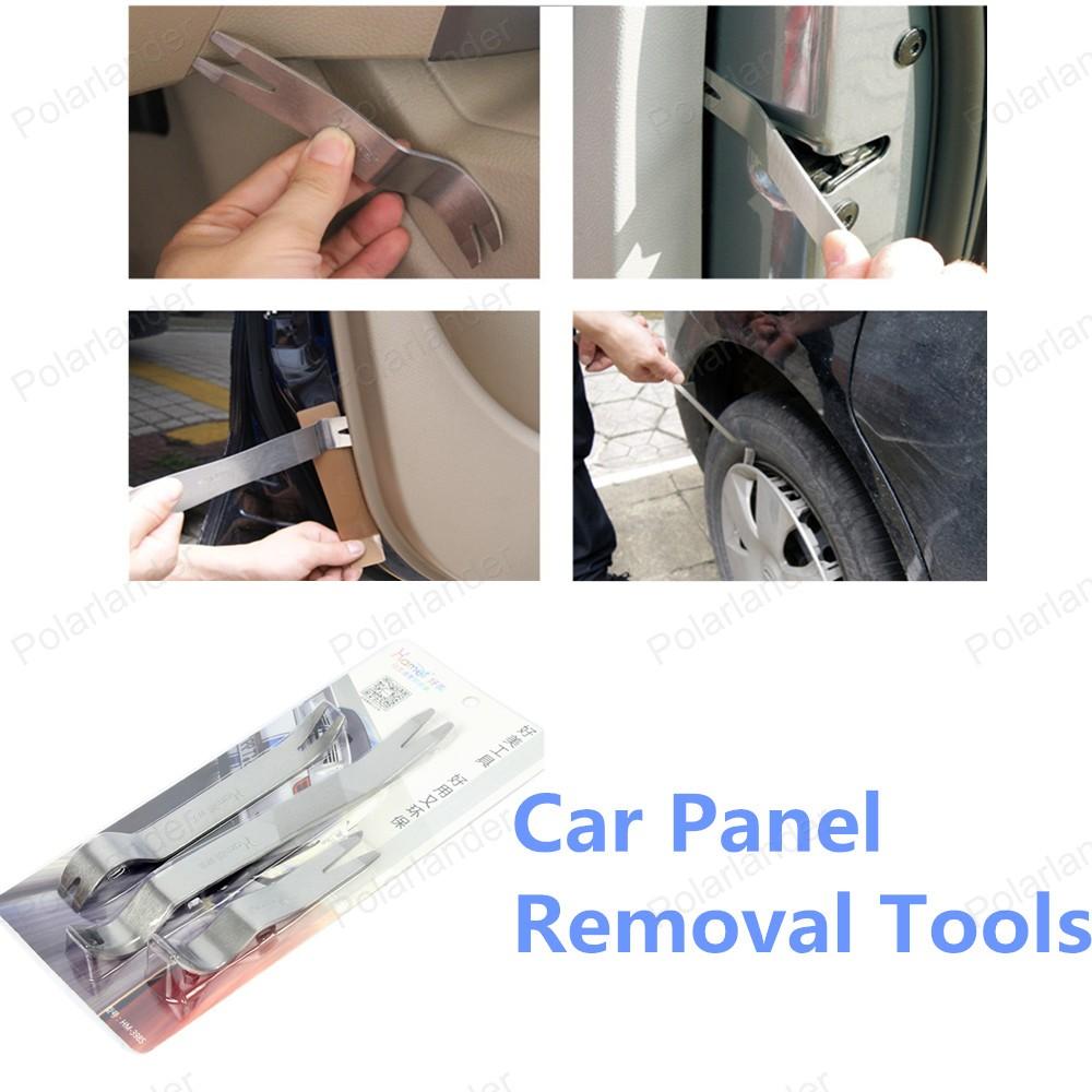 Высокое качество 3 шт./компл. бесплатная доставка комплект инструментов автомобиля удаление панель инструментов