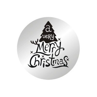 10pcs/lot 2014 New 22mm Merry Christmas Stainless Steel Plates Charms For 30MM Floating Living Memory Locket(China (Mainland))