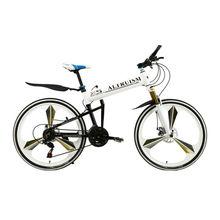Buy Altruism X5 Pro 21 Speed Aluminium Folding Bike Frame Mountain Bicycle 26 Inch Disc Brakes Tall Man MTB Bike for $377.98 in AliExpress store
