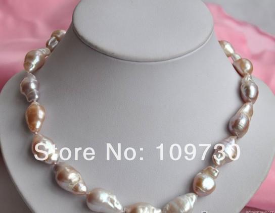 Jewelry 002597 1722mm baroque purple reborn keshi pearl necklace<br><br>Aliexpress