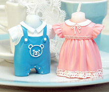 Cute Boy and Girl Candles