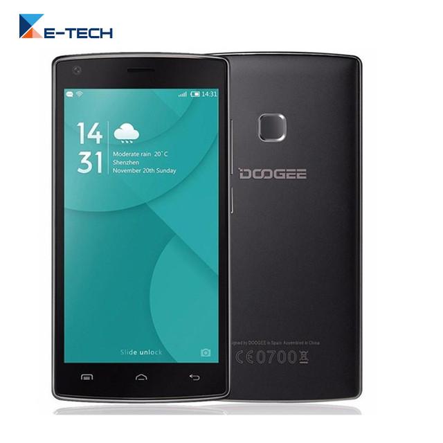 Original Doogee X5 MAX Pro Смартфон MTK6737 Quad Core 5.0 Дюймов мобильный Телефон 2 ГБ RAM 16 ГБ ROM 4000 мАч Android 6.0 4 Г Сотовый телефон