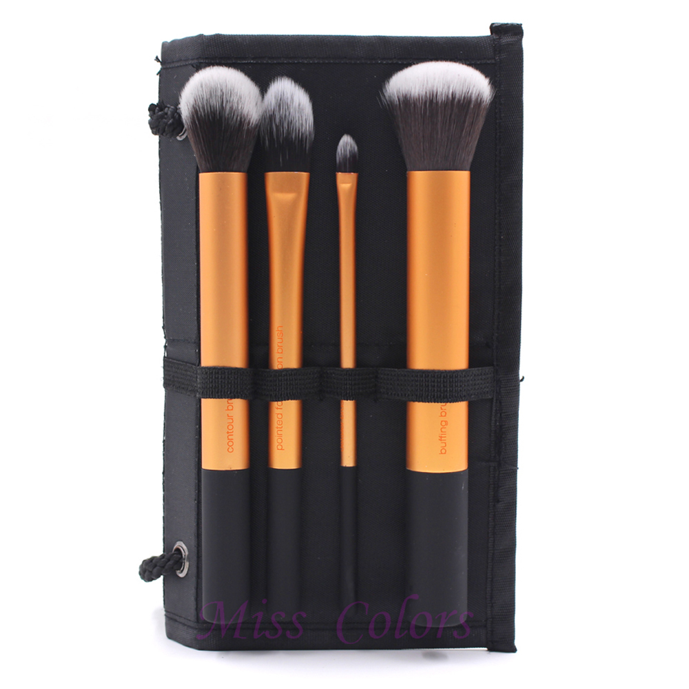 natural Brushes Makeup Women Cosmetics brushes cheap  Natural hair Hair set makeup Professional Brush