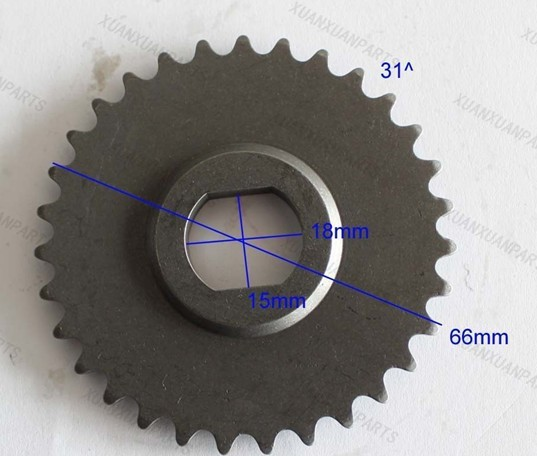 Cfmoto CF188 CF500 500cc Engine Sprocket,Balance shaft     freeshipping