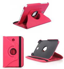 Rotating 360 Leather Case Cover With Stand Holster For Samsung Galaxy Note 8.0 N5100 N5110 N5120 8 inch Tablet Protective Shell