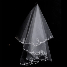 Wholesale bride wedding dress 1.5 meters veil long veil thick yarn the bride hair accessory veils