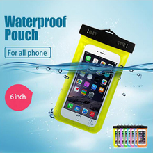 Buy New Waterproof Pouch Underwater Universal Diving Bag Phone Camera Dry Swimming Bag Case Cover For Lenovo vibe k5 p1m shot x3 s1 for $3.39 in AliExpress store