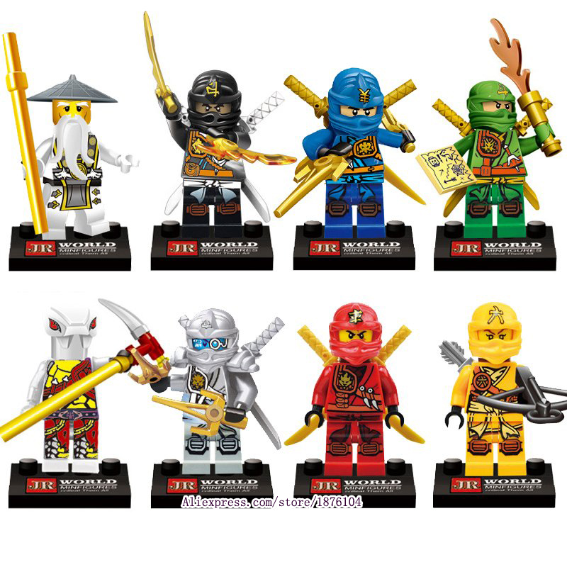 TMNT Teenage Mutant Phantom Ninja Turtles Minifigures Building Blocks toy Ninjago KAI Bricks Kids Toy Compatible Legoe  -  Nororoa store