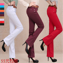 Colored boot cut jeans online shopping-the world largest colored