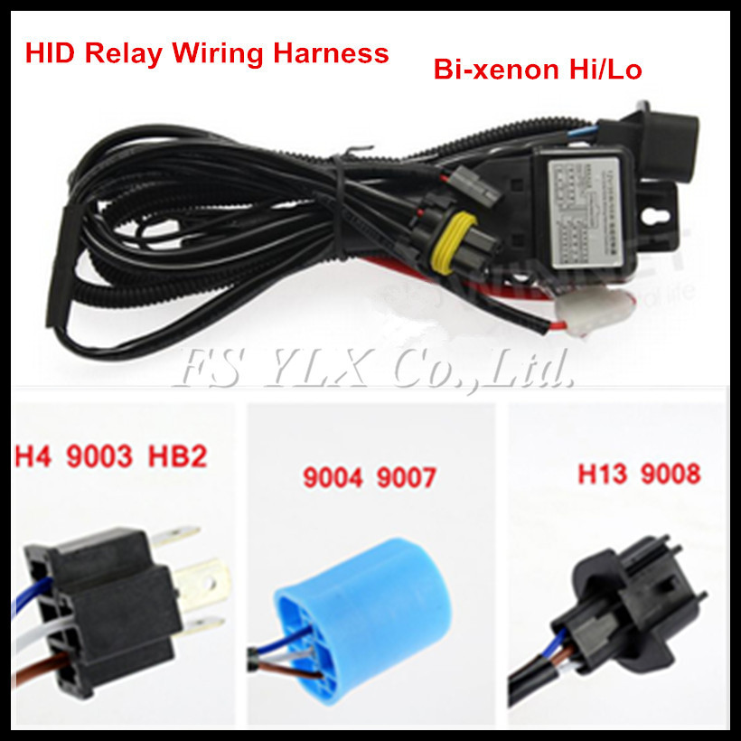 HID Wiring Replacement 35W 55W HID H L Bi Xenon Relay font b Harness b font 55w hid wiring harness 200 ford ranger wiring harness \u2022 wiring 55w hid wiring harness at edmiracle.co