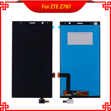 "6"" LCD Display Touch Screen Digitizer Assembly Replacement For ZTE Grand X Max+ Plus Z787 High Quality Mobile Phone LCDs"