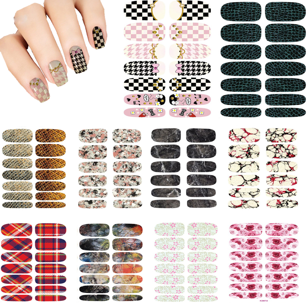 10pcs Vintage Water Transfer Nails Stickers 3D Design Serpentine Nails Art Decal Metal Gold Manicure Stickers Decals Wraps Cheap(China (Mainland))