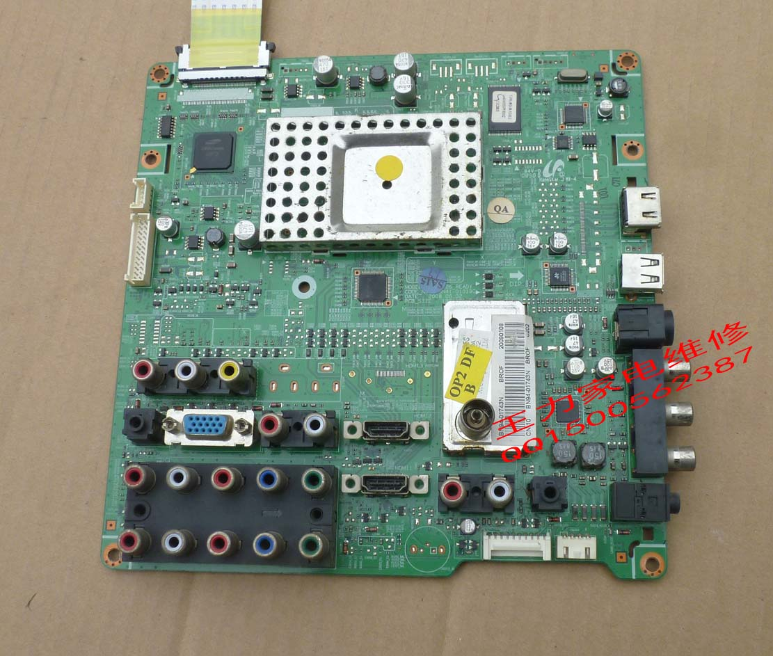 Фотография Free shipping LA40A550P1R Board BN41-01019C BN94-01743N  LTF400HA03 Used disassemble