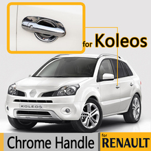 Buy For Renault Koleos Luxurious Chrome Door Handle Covers 2007-2015 Accessories Trim Set of 4Pcs Car Styling 2009 2010 2013 2014 for $18.84 in AliExpress store