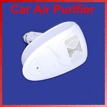 White Auto Car Fresh Air Purifier Oxygen Bar Ionizer New(China (Mainland))