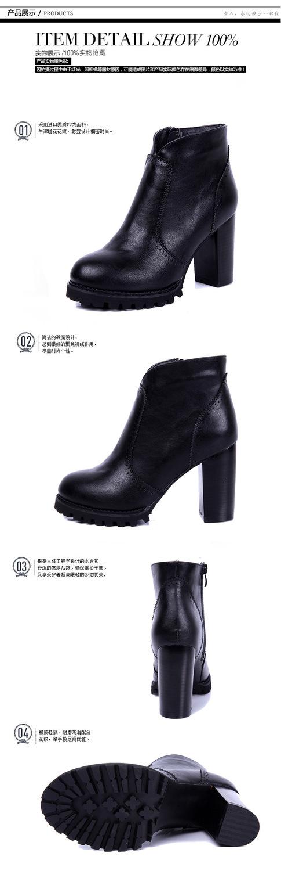 2016 Yeni sonbahar ve kış kadın çizmeler kalın çizmeler düşük burst kadife ayakkabı PU ayakkabı DFGD
