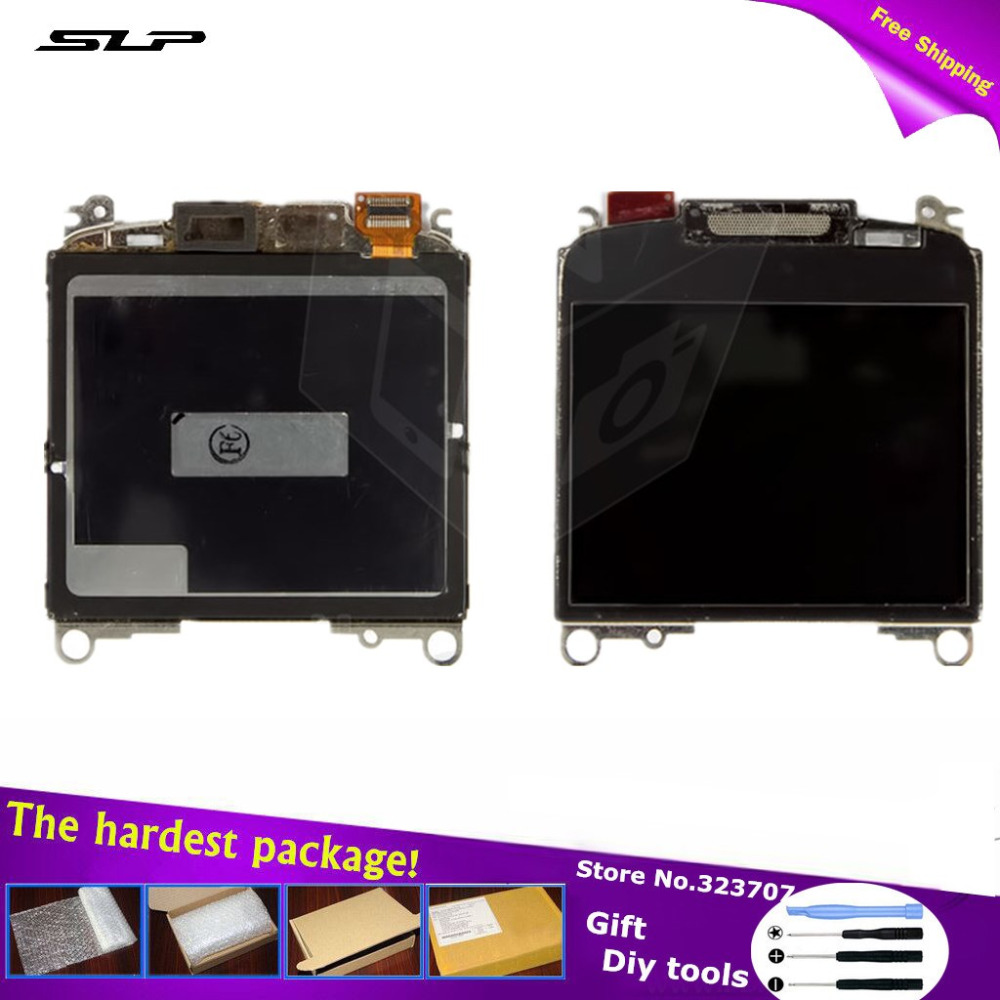 5 piece Black LCD Blackberry 8350i, 8520, 8530, 9300, 9330 ver 005 Cell Phones (+DiY tools)