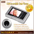 Home Video Peephole Door Camera With Recorder Door Eye Camera