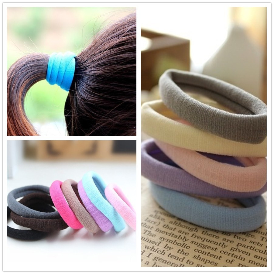 cute elastic hair bands for women girls hair ties ring Rope Scrunchie Ponytail Holder headband fashion Accessories ornaments new(China (Mainland))