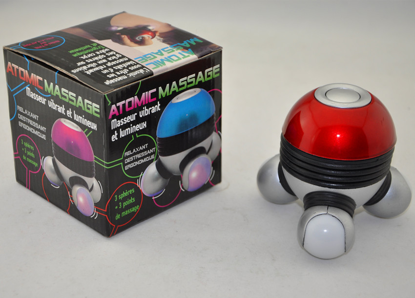 Colorful lights mini massager electric foot massager face-lift(China (Mainland))