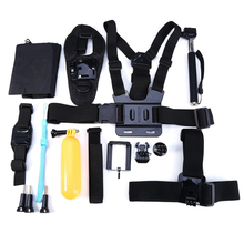 14-in-1 Sports Action Camera Accessories Kits for Gopro Hero 4 3 2 Action Camera(China (Mainland))