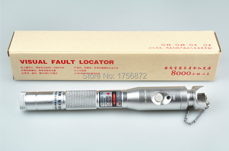 NEW Design coaxial exfo otdr visual fault locator10mW 10KM Visual Fault Locator Fiber Optic Laser Cable Tester Test Equipment(China (Mainland))