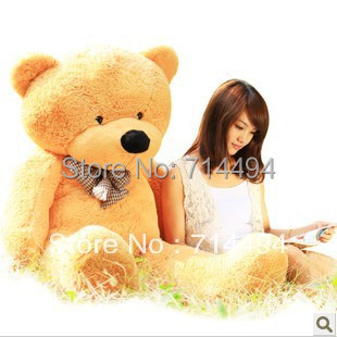100cm three colors teddy bear skin coat lowest price of the whole network can be customized birthday gifts Christmas gifts(China (Mainland))