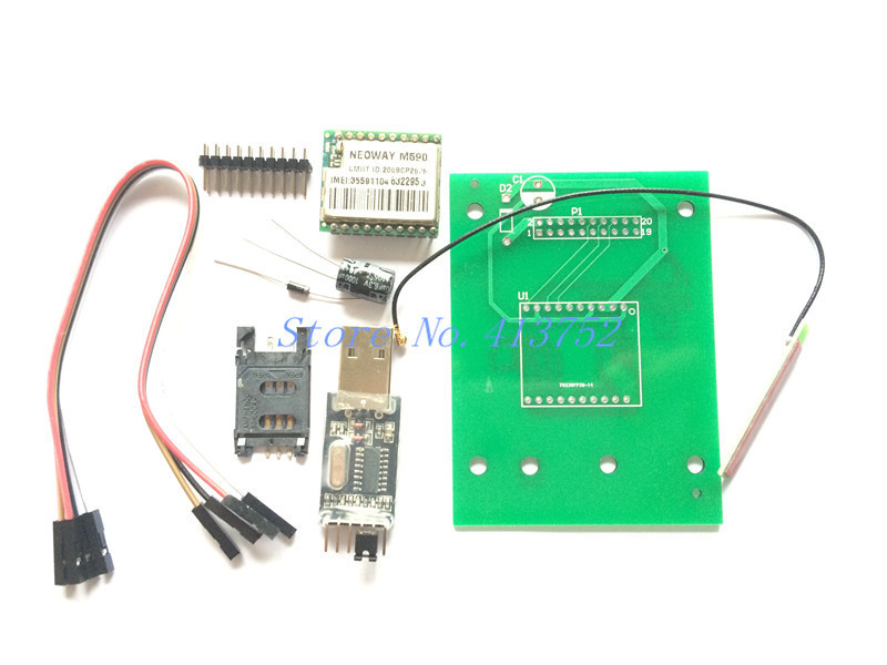 DIY KIT GSM GPRS 900 1800 MHz Short Message Service SMS module for project for Arduino remote sensing alarm(China (Mainland))