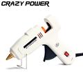 CRAZY POWER 60W 100W Dual Power Electric Heating High Temp Heater Hot Melt Glue Gun Sticks