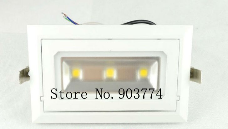 10pcs/lot  good Thermal performance dimmable 30w Cob led Square ceiling light AC85~265V 2 Years warranty<br><br>Aliexpress