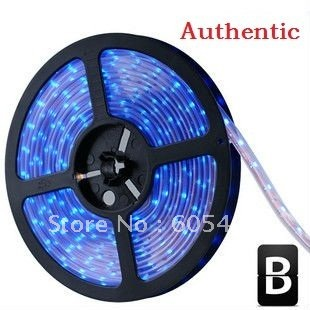 LED lamp with 5050 patches of light strip 30 bead / meters waterproof white warm white free shipping(China (Mainland))