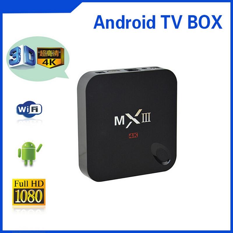 French & Arabic IPTV Box AMLOGIC MX3 MXIII S802 QUAD CORE CPU 2G RAM 8G ROM HDD XBMC ANDROID WIFI SMART TV BOX STB(China (Mainland))