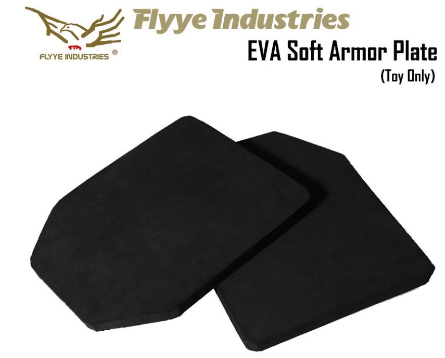 FLYYE EVA 2 pcs SAPI Ballistic Plate Med Size 10''x 13'' For Cosplay Vest FREEJPC vest vest by 6094