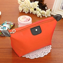 Promotion Free Shipping New 2015 Hot Women Makeup Case Pouch Cosmetic Bag Toiletries Travel Jewelry Organizer