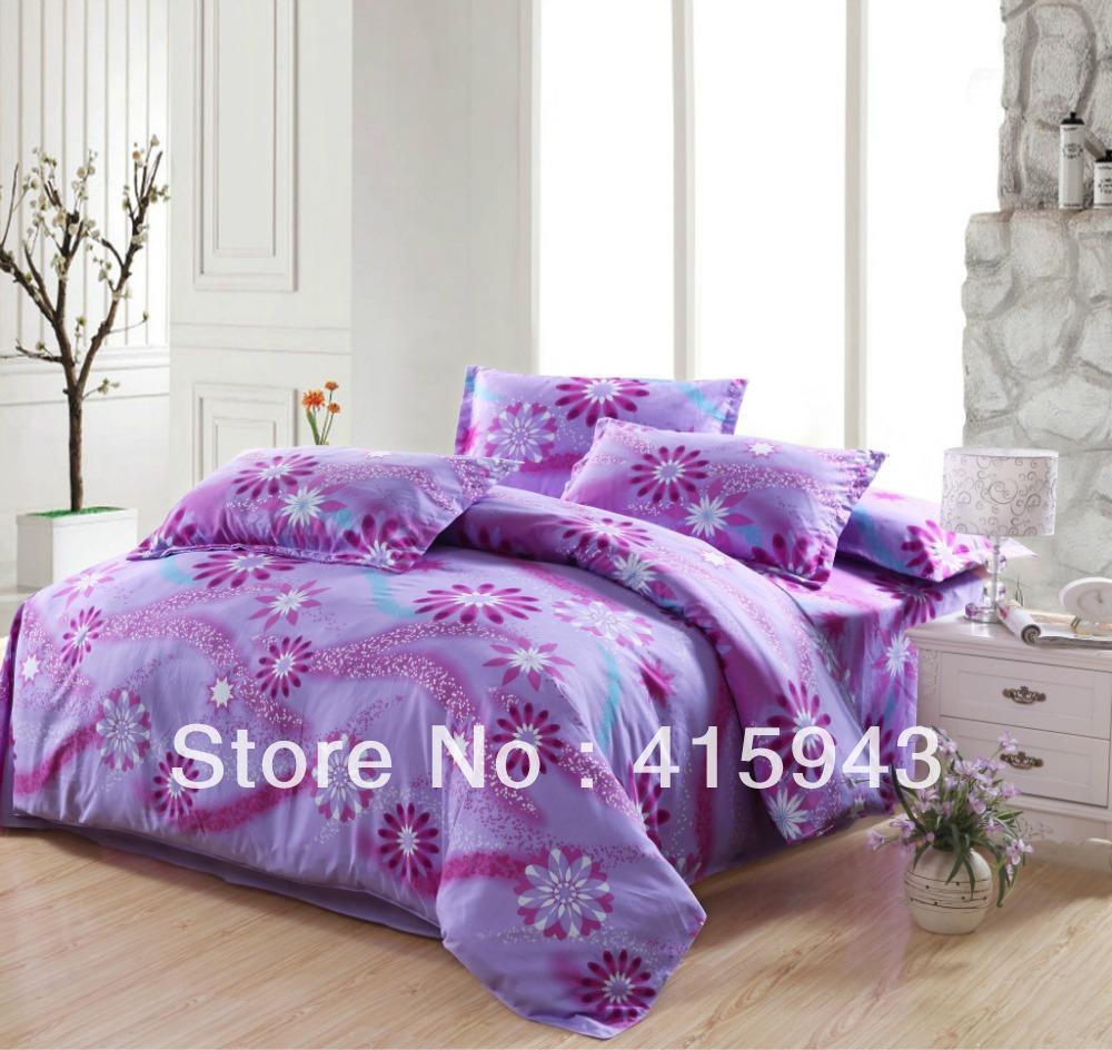 Velvet Comforter Set Purple Bedspreads And Comforters