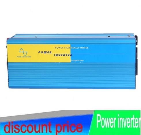 1000W Pure sine wave inverter 1000W Solar inverter 12V 24V 12V DC to 100V/110V/ 220V/230V/240V AC Peak power 2000W(China (Mainland))