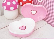 Heart Soap Box, Heart Sundries Basket ( Free Shipping )(China (Mainland))