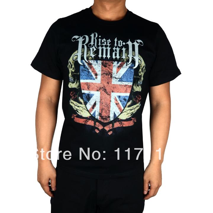 Free shipping Trivium Hardcore Dead core metal Mars rock new 100% cotton black T-shirt(China (Mainland))