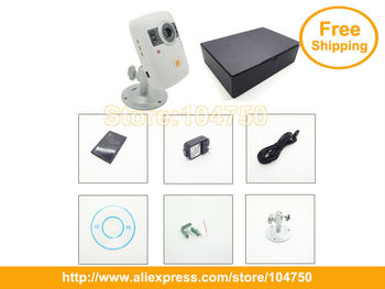 China Post Free Shipping! Home security alarm system WCDMA 3G security camera with 2 way video call (3G-B1)
