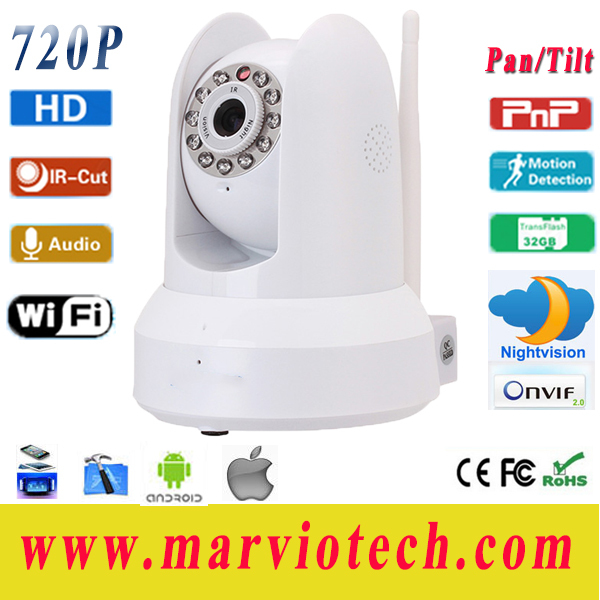 Mobile Monitor IP Camera Support Wireless Standard IEEE 802.11b/g/n Support P2P technology, plug and play Free Shipping(China (Mainland))