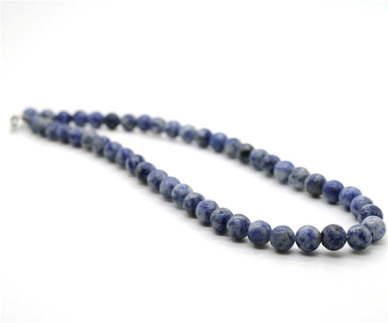 sales sodalite necklace magnetic clasp 8 mm