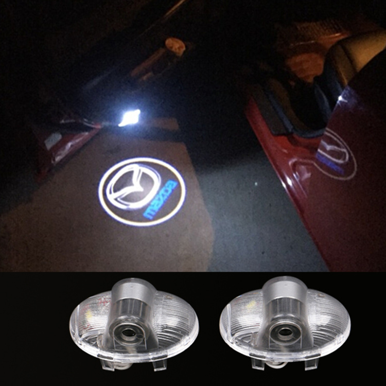 Гаджет  2 x Car Laser LED Door Ghost Shadow Projector Light FOR mazda 6 A8 RX -8 None Автомобили и Мотоциклы