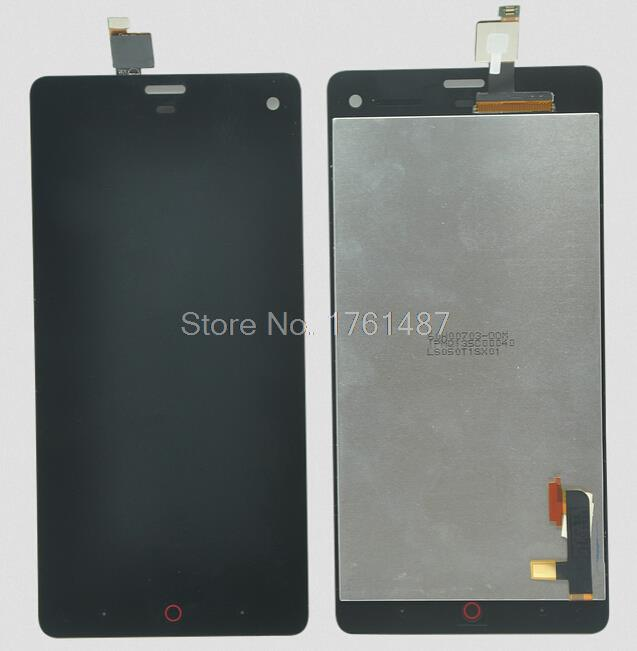 100% Test LCD Screen For ZTE Nubia Z7 Mini LCD Screen Display With Touch Screen Digitizer Assemblely Black Free Shipping