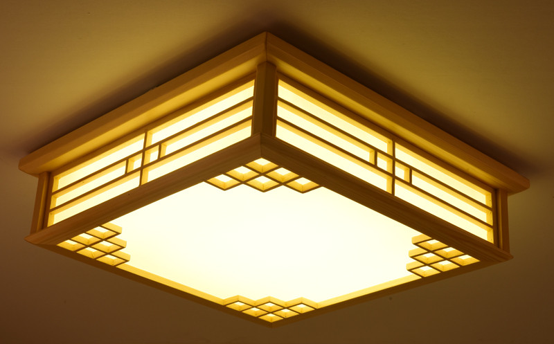 Popular modern wood ceiling buy cheap modern wood ceiling for B q living room lights