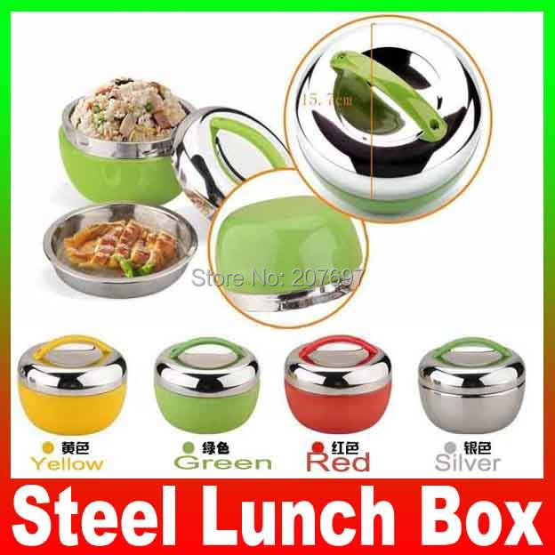 apple shape stainless steel lunch box bento 2 tier locking. Black Bedroom Furniture Sets. Home Design Ideas