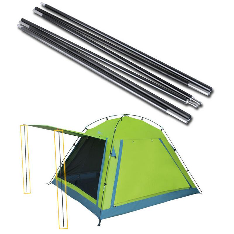 2pcs/pair Canopy tents accessories aluminum poles foyer strut rods can be customized pole for a tent aluminum tent pole(China (Mainland))