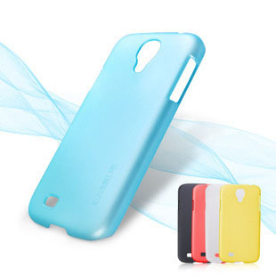For samsung   s4 i9500 phone case mobile phone case protective case set ultra-thin color display