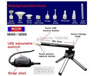B003 + 300x de Zoom Supereyes multifunción USB microscopio Digital portátil con la luz llevada